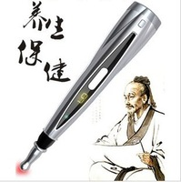 Electronic laser acupoint acupuncture pen treatment and health care