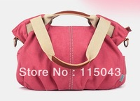 Free Shipping TAOBAO AGENT 2013 Promotion 100%  Cotton Canvas Handbags Ladies Travel Tote Bag Female Outdoor Shopping Bags