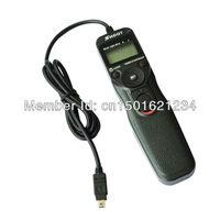 LCD MC-DC2 Timer Remote Shutter Release cord for MC-DC2 Nikon D90 D3100 D5000