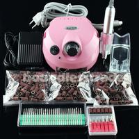 OPHIR 220V 30000RPM Nails Salon Manicure Pedicure Nail Drill Acrylic Kit Bit Set Gel Art Tool Polish Machine_KD143PE+163+165-167
