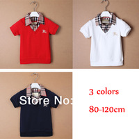 clearance!2014 new summer kids baby children clothing boys short sleeve shirt clothes for boys suit fashion sport suit