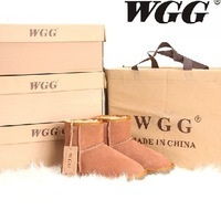 2013 Hot selling WGG women's snow boots 5854 low boots winter keep warm boots 100% cowhide cheap wholesale