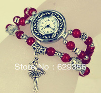 Ladies bracelet watch women watch female form bracelet watch fashion watch Korean fashion retro new student table