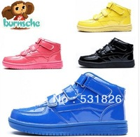 Free shipping burnsche 2013 Korean version of the new bright skin warm and casual shoes Genuine factory direct
