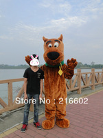 High quality Scooby scooby-doo mascot costume Scooby scooby-doo dog clothing mascot costume free shipping