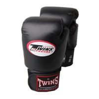 Twins special full black gloves sanda glove gloves boxing gloves