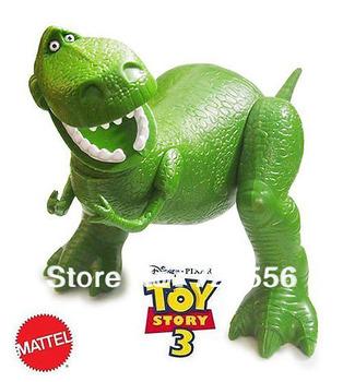 Free shipping  Toy Story 3 pvc anime figure hug Dragon  Green dinosaur big size 30cm send toy story sticker
