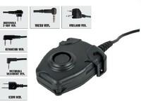 Element / Z-Tactical Peltor U94 Style PTT for Ken woo 2 Pins Radio Headset free shipping