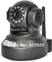 720P Megapixel HD Plug&Play Wireless/WiFi H.264 Pan Tilt IP Camera Baby Monitor Night Vision Home Use Nanny Camera