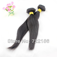 5A Unprocessed Queen Hair Products Straight 100% Peruvian Virgin Hair Tangle Free Natural Color