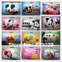 New 2014 Drop ship home textile 48*74cm Cartoon mickey,minnie,Princess piglet anime pillow case,pillow covers for dakimakura