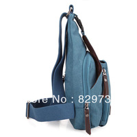 Free shipping 2013 chest pack messenger bag casual messenger bag canvas bag small light bags