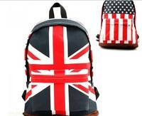 New 2013 school bags, women and men shoulder bag, canvas bag, American flag bag, English flag bags