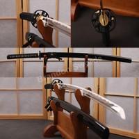 1060 High Carbon Steel Blade Handmade Japanese Sword Samurai Sharp Edge Katana Can Cut Bamboo * HA123