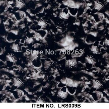 Exclusive Skull PVA hydrographic printing film Item NO.LRS009B