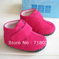 2013 hot new baby soft bottom first walkers baby shoes Cotton-padded snow boots cotton-padded shoes with soft leather sole