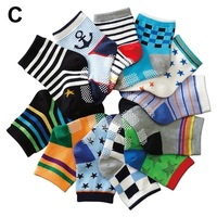 Popular Cartoon baby socks Antislip baby boys hosiery 1-3T infant cotton socks 12 pairs/lot ( 1--3years old baby)