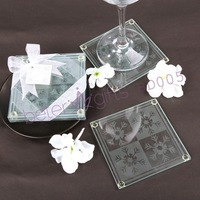 Free Shipping 50pcs=25box wedding anniversary gifts Coasters party stores BETER-BD005 http://Shanghai-Beter.taobao.com