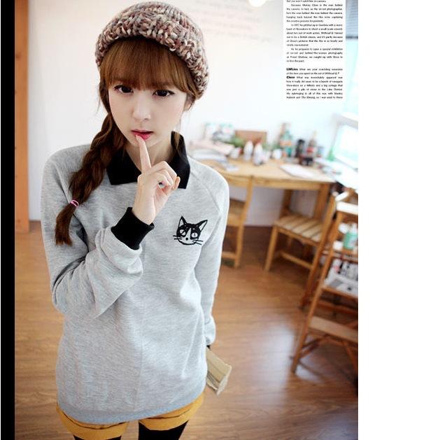 Женские толстовки и Кофты Lolita Miao 2015 Sweatershirt юбка 2015 lolita