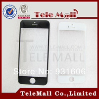 Free Shipping . 100% Perfect Quality ( Black / White ) For Iphone 5 G 5G LCD Touch Screen Display Outer Front  Lens Top Glass