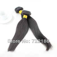 5A Grade  Unprocessed  Queen Hair Products Straight 100%  European Natual Color  Virgin Human Hair