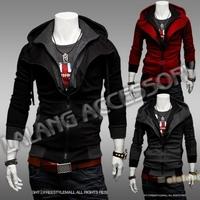 New Zipper Coats Men Outwear Streetwear Mens Hoodie Cap Winter Jacket Coat Men Clothes Men's Jacket Coat  EJ652743