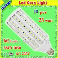 165 epistar 5050 smd led e27 corn bulb 25w_360 degree day white led light bulbs ac 220v free shipping 10 pcs/lot