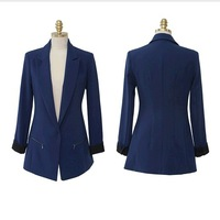 autumn women slim plus size blazers 2013 fashion girl Suits jackets outerwear women's elegant blazer tops ,Women's Clothing s550