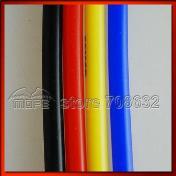 HOT SALE Fixed Price 1M 6MM Original Logo Silicone Vacuum Hose Tubing Tube Blue Red Black Yellow