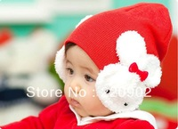 2013 Free Shipping Fashion baby cap Cartoon rabbit Cotton infant kids hats children baby hat