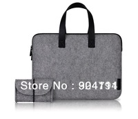 Original Cartinoe Luxury Wool Briefcase Bag For Macbook Air/Pro 11.6 13.3 15.4  With Mouse Bag, Free Shipping
