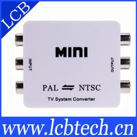 5pcs/lot pal to ntsc tv video converter hdmi 1080p free shipping