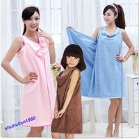Free Shipping Soft Magic Washcloths Wearable Towel Bath Spa Fast dry Shower Swimming Warp