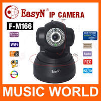 EasyN F3-M166 P2P Wireless Camera 0.3 Megapixel cctv Camera Support iPhone/iPad/Android/PC Free Shipping