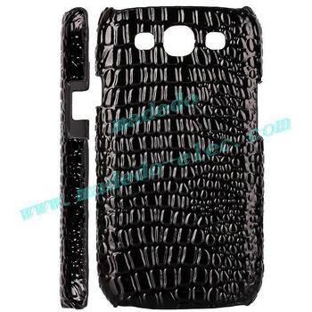 PU Crocodile Leather case For Samsung Galaxy SIII i9300