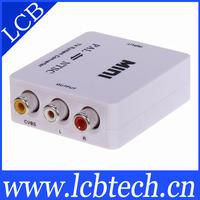 free shipping Mini ntsc to pal tv system converter