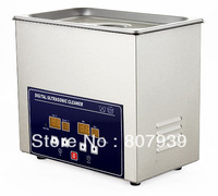Stainless Steel Memory Quick Digital Ultrasonic Cleaner 3.2L 100W 50Hz 220VAC 110VAC