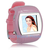 MQ007 1.5 inch TFT touch screen Quad-bands Bluetooth Watch Phone Mp3 Mp4 FM Radio Recording 1.3 MP Camera