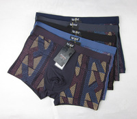 High Quality! On Sale! 5 Colors Free Shipping 5pcs/lot Men Boxer Underwear Bamboo 2013 4XL/XXXXL