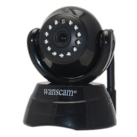 Hot P2P Wireless Cam WiFi Security Surveillance Monitor Network Internet Pan Tilt CCTV IP Camera Webcam Motion Detect Free DDNS