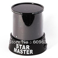 New style Free Shipping New arrival LED Star Master Light Star Projector Led Night  Light/project lamp/with retail package