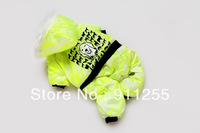 Free Shipping! 2013 New Design Cool fluorescent Pet Clothes,Four-legged Warm Dog Clothes for Autumn and Winter, ,A3011