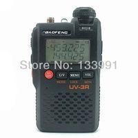 Mini Radio 2W 99CH Walkie Talkie Baofeng UV-3R Dual Band 136-174/400-470MHz Ham FM Portable Radio Transceiver UV3R+Free Earpiece