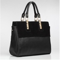 2013 Fashion HOT SALE high quality WEIDI brand handbag women's Genuine cow Matte leather bags Free Shipping NB0197
