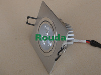 promotion 3w ceiling lights 20pcs/lot free shpping 110-120lm/w taiwan epistar CE ROHS led lights for home