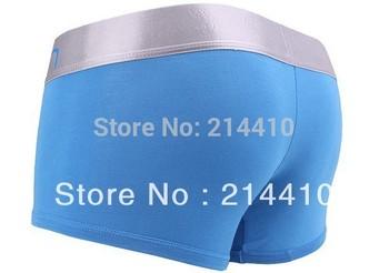happy SZ High Quality 10pcs/lot Men's Underwear Boxers   Cotton Underwear Man Underwear Boxer Shorts Mix Order have logo brand