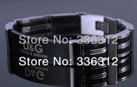 BA-11013 silver stainless steel bracelet mens brand bangle chain great gift Italy designer trendy new