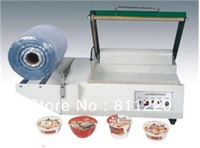 Manual bottle slevee sealing machine,plastic wrapping bag sealer,wrapping-sealing one step packaging equipment tool,economic