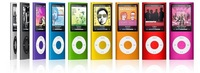 NEW 32GB 4TH GEN MP3 MP4 PLAYER FM VIDEO 9 colors for choose mp3 MP4 player