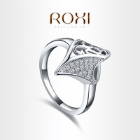 ROXI brand 2013 New arrival,delicate Neutral crystal rings,FREE SHIPPING,best gift for girlfriend,noble Party Jewelry,101020372